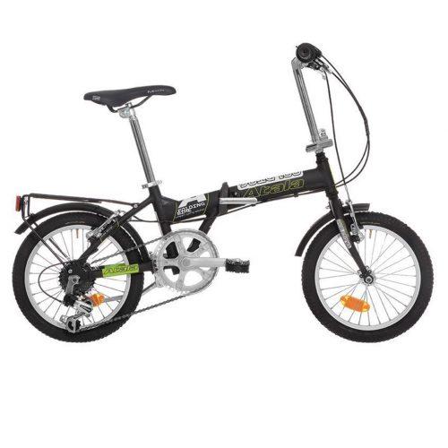 Bicicletta Pieghevole Kawasaki Folding Bike Alluminio.Atala Folding 16 Bici Pieghevole 6v Alu 2015 Pedali In Alluminio