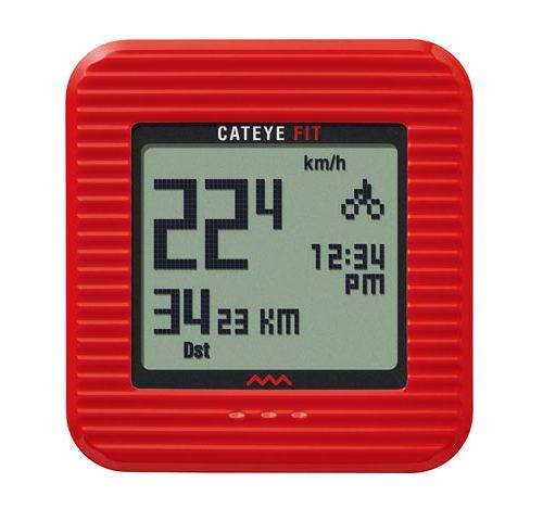 Cateye Fit Wireless Cycling Computer/Walking Pedometer