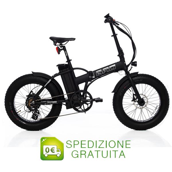 bad bike bici pieghevole a pedalata assistita fat bike 20