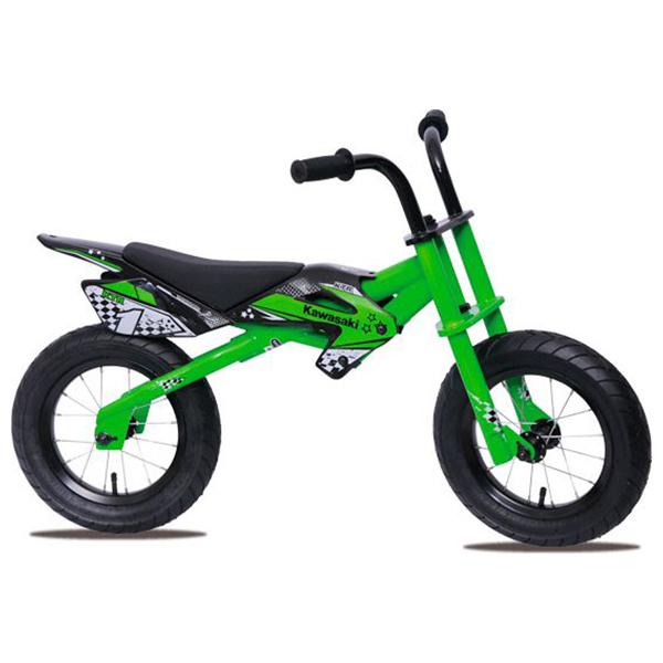 Kawasaki Bici Bimbo Senza Pedali 12 Green