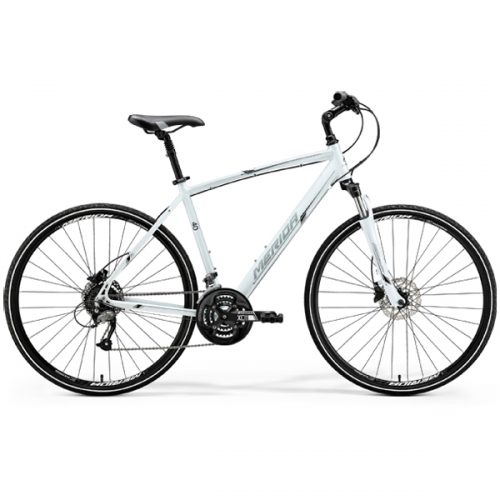 MERIDA CROSSWAY 40-D BICI IBRIDA WHITE-SILVER-BLACK